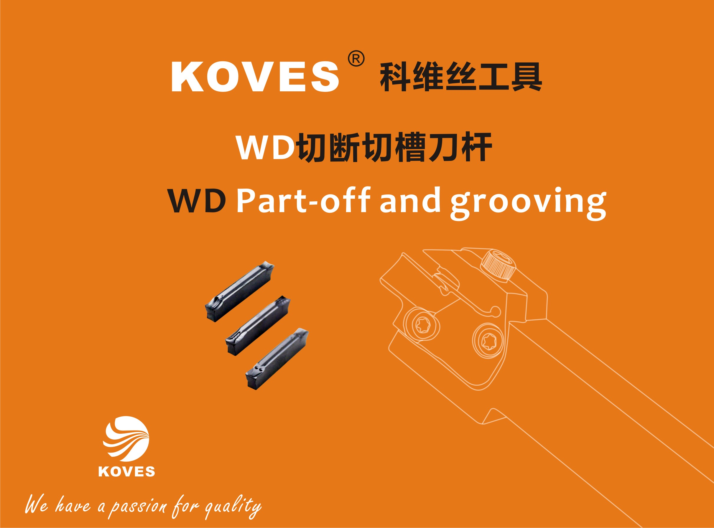 <b>WD Moular Parting And Grooving Tools</b>